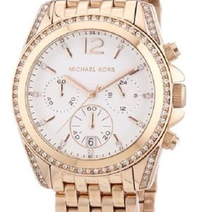 Michael Kors MK5836 Pressley Rose Gold Tone Watch